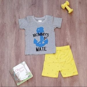 """""""Mommy's First Mate"""" 2 Piece Set"""